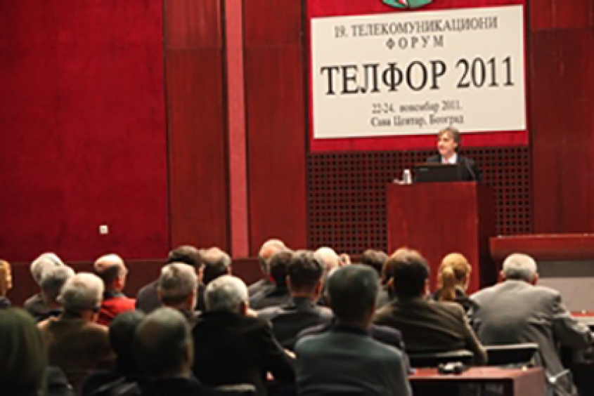 Ericsson at Telforu 2011 – The Networked Society