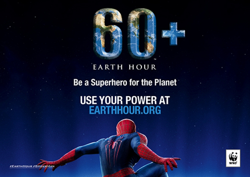 WWF and Spider-man Join Forces to Save the Planet