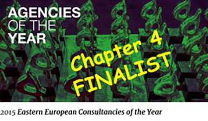 Chapter 4 Again Nominated for Best Consultancy in Eastern Europe