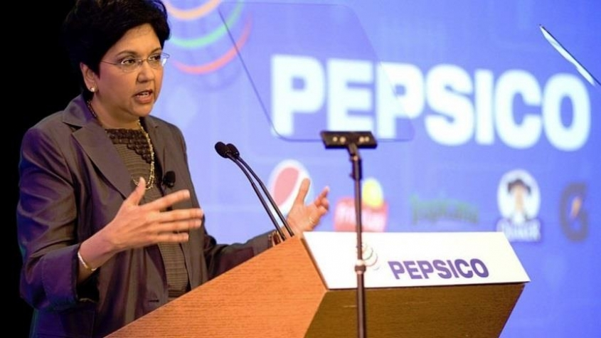 PepsiCo CEO Indra Nooyi is stepping down after 12 years
