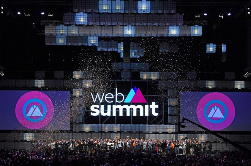 Web summit - place where future is born