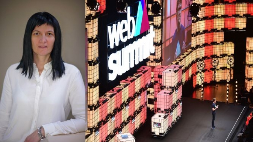 Our colleague Milena writes about Web Summit for Svet osiguranja