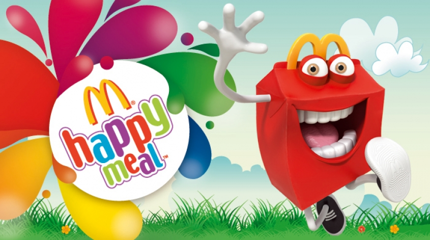 With happy meal offer you can choose toy or book