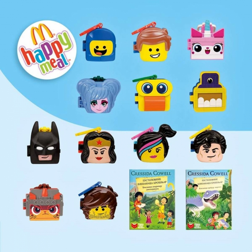New toys within Happy meal