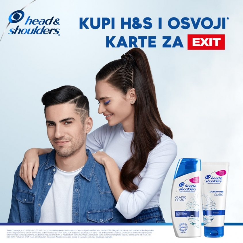 Head and shoulders's contest ends soon