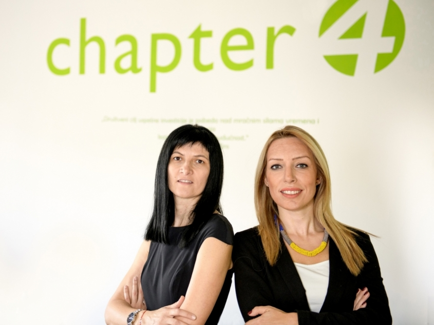 Chapter 4 managers – Finalists for the business women award