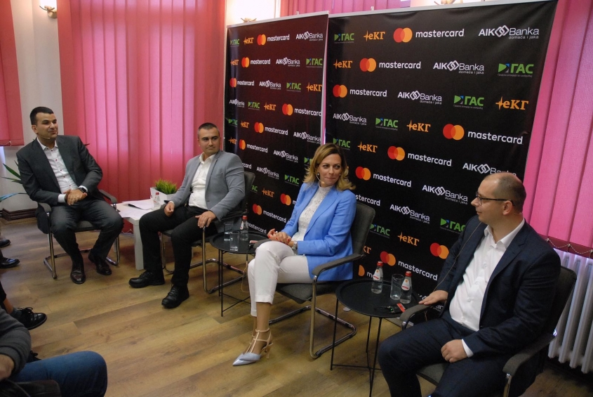 Mastercard introduced contactless payment service at public transport in Kragujevac