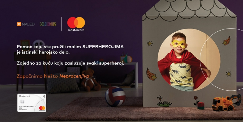 Mastercard donation for the biggest NURDOR parental house