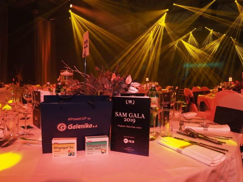 Our client supported Sam Gala 2019