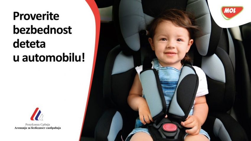 Online education on safe use of car seats for children