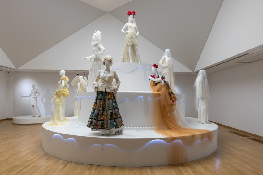 "Expert guides through the exhibition ""Love is Love: The Joy of Wedding for All by Jean Paul Gaultier"""